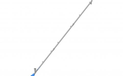 Screw-type conveyor ⌀ 159mm \ 11500mm