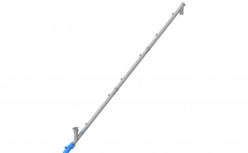 Screw-type conveyor ⌀ 219mm \ 10000mm