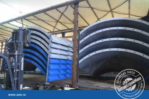 Отгружен силос 120 тонн в Узбекистан.