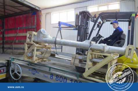 Отгружена конвейерная линия АСМ-200КА в Узбекистан.