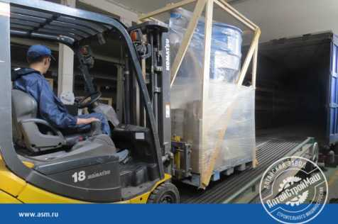 The conveyor line ASM-130KA was shipped to Uzbekistan.