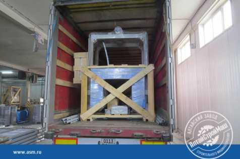 The conveyor line ASM-200KA was shipped to Uzbekistan.