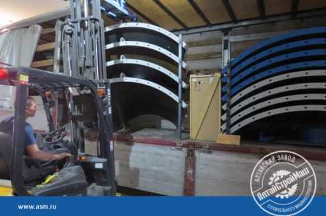 A silo of 56 tons was shipped to Uzbekistan.