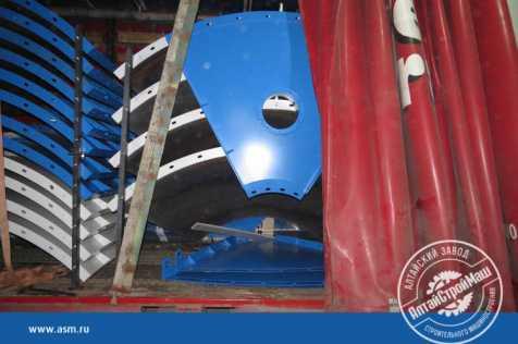 Отгружен силос 76 тонн в Узбекистан.