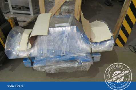 The attachments for the forklift truck were shipped to Western Siberia.