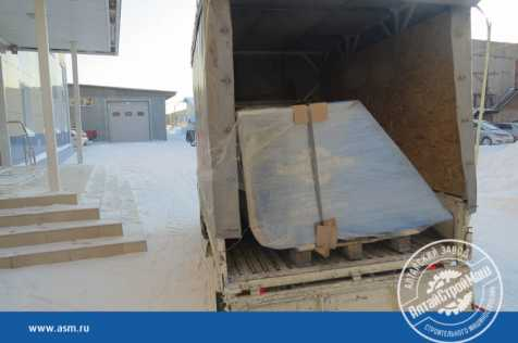The attachment equipment for the loader has been shipped to Western Siberia