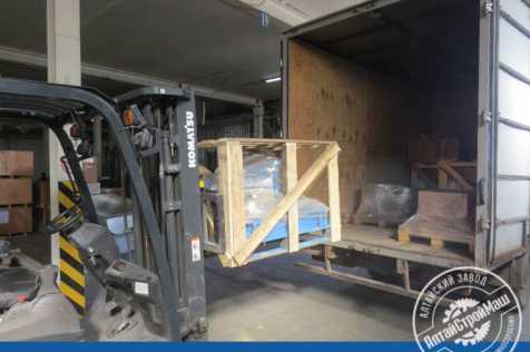 The 18 Shredder-Desintegrator was shipped to the European part of Russia.