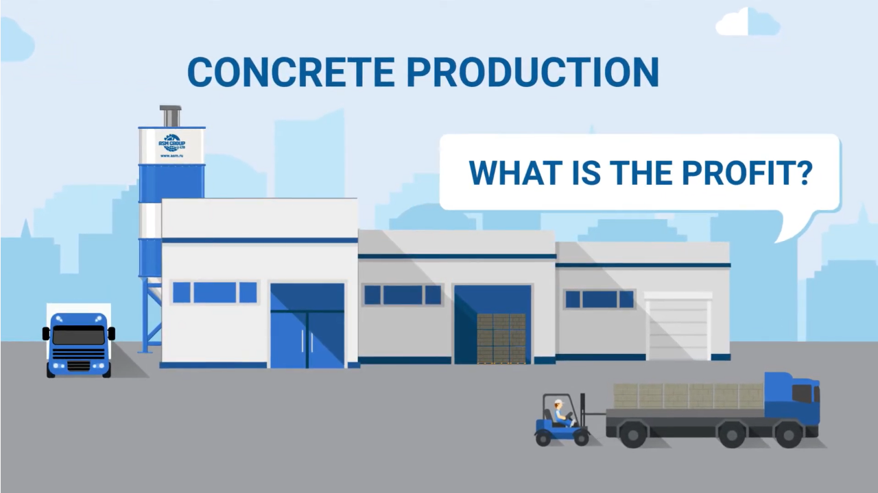 How much can you earn on the production of aerated concrete?