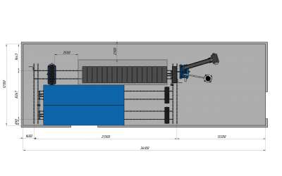 Варианты компоновки оборудования для производства газобетона