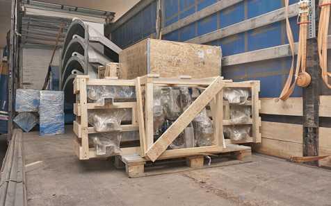 Отправляем оборудование в юго-западный Казахстан