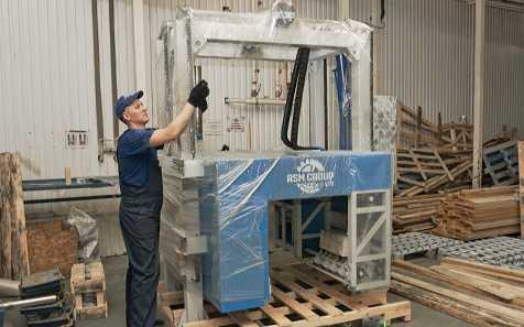 Подготовка к отгрузке резательного комплекса РМ4