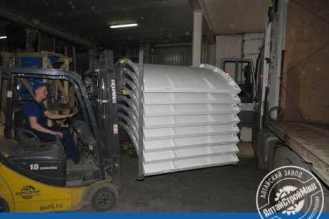 Отгружен Силос 120 тонн в Северную часть Казахстана.